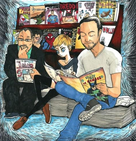 the comics gang
